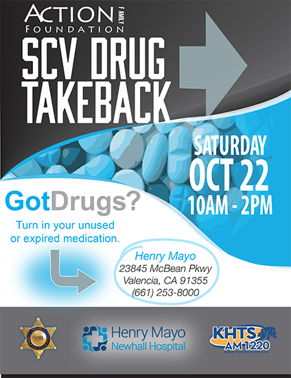 Drug Takeback, Events, Santa Clarita events, Family health, Action, Action Family Counseling